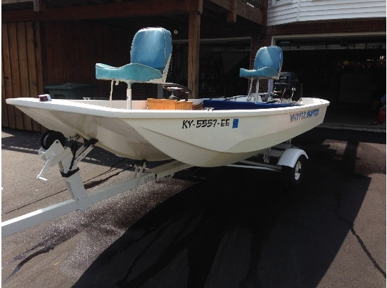 1971 Boston Whaler Tri-hull