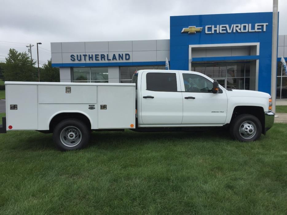 2016 Chevrolet K3500 Mechanics Truck