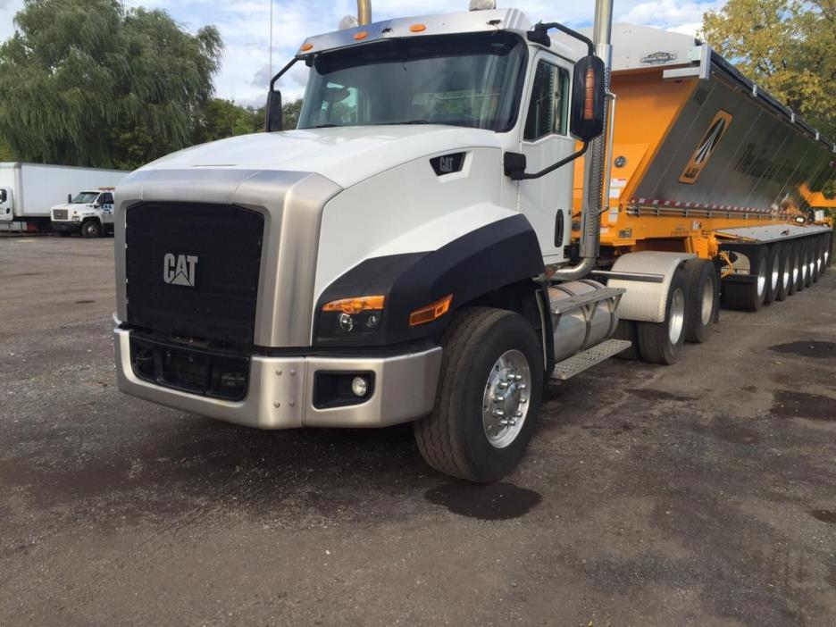 2014 Caterpillar Ct660l  Dump Truck