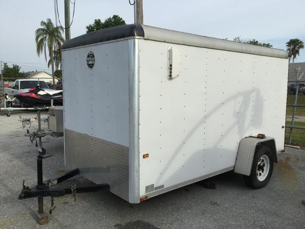 1994 Wells Cargo Enclosed UtIlity Motorcycle Trailer
