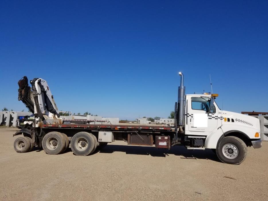1999 Sterling Truck Crane Truck