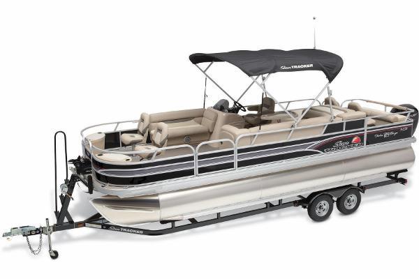2015 Sun Tracker Fishin' Barge 24 XP3 200 V ROD