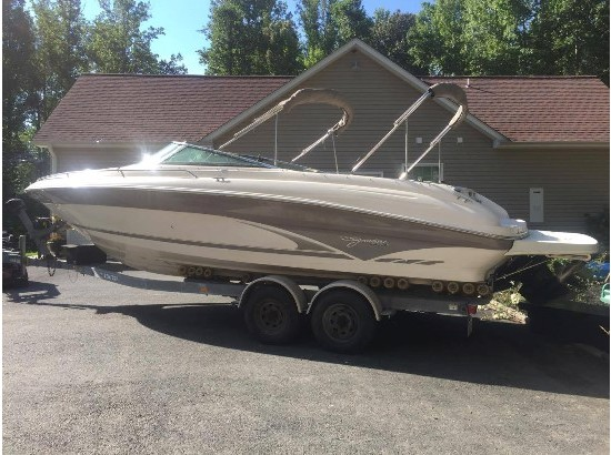 1998 Sea Ray 260 Sundeck