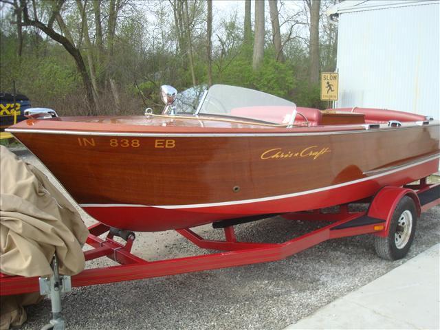 1963 Chris-Craft 18 utility sportsman sea skiff