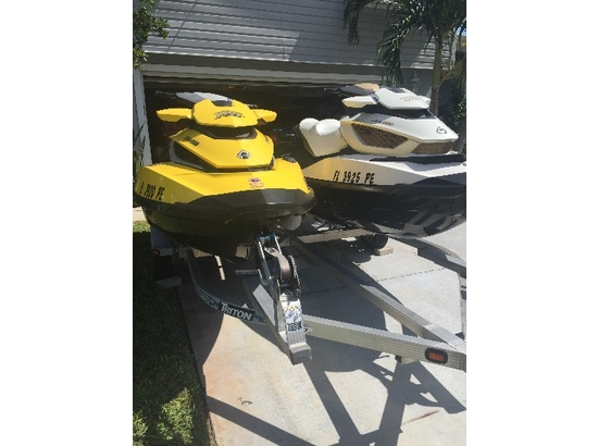 2011 Sea Doo RXT 215 and GTX Limited 260