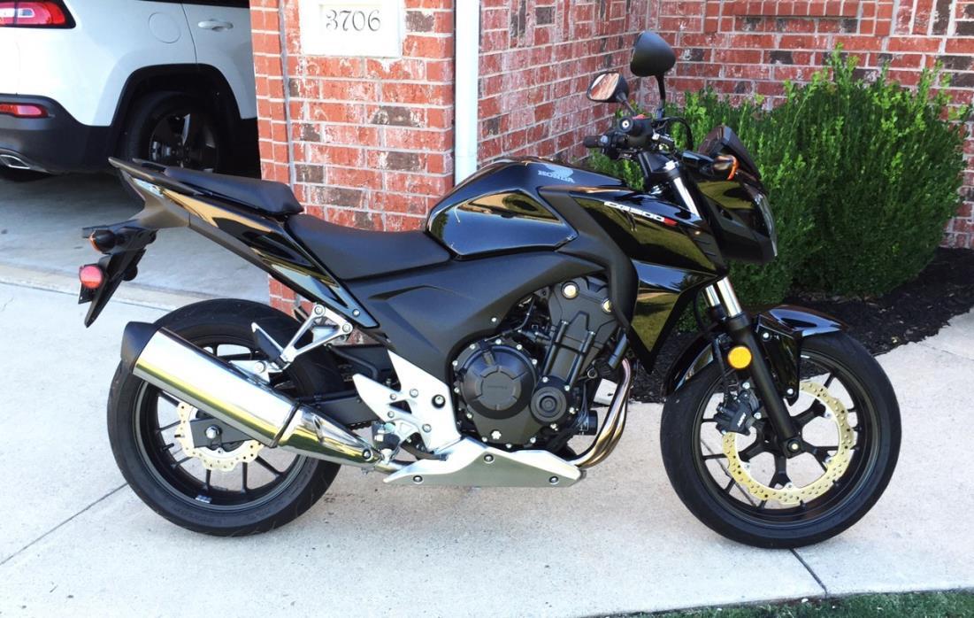 2013 Honda CB 500F