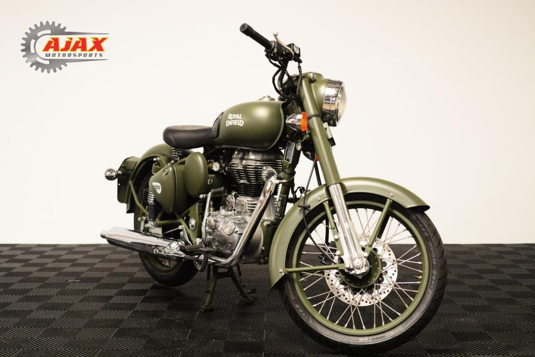 2017 Royal Enfield C5 MILITARY