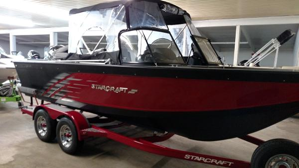 2016 Starcraft Fishmaster 196