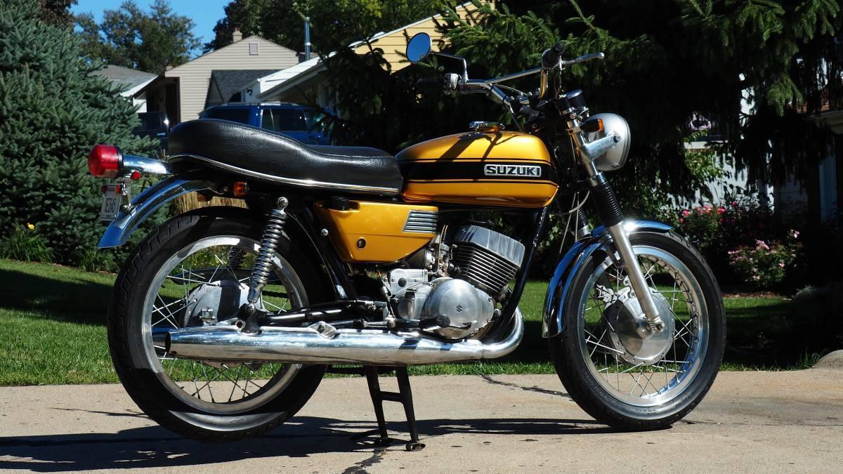 1971 Suzuki REBEL T350