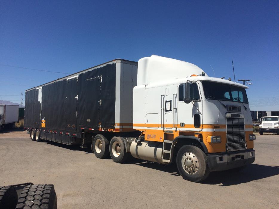 1990 Freightliner Fl11242s Cabover Truck - Sleeper