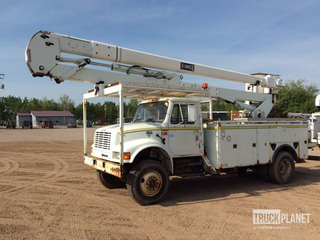 Terex Hi-Ranger 5tc-55  Bucket Truck - Boom Truck