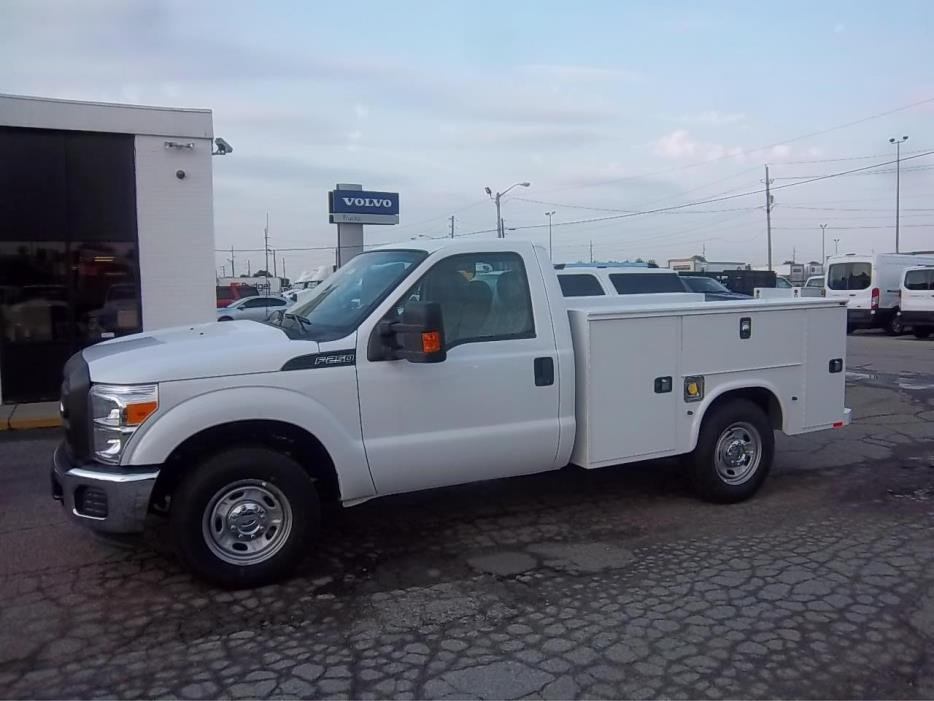 2016 Ford F250 Xl Sd Utility Truck - Service Truck