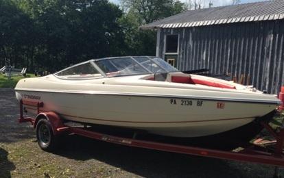 1992 Stingray Boats 556zp