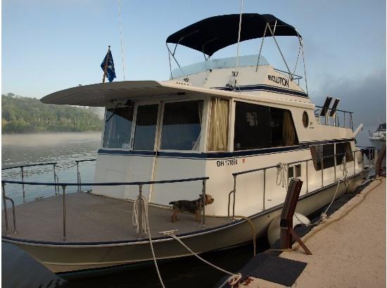 1973 Marinette SeaCrest 41 Houseboat
