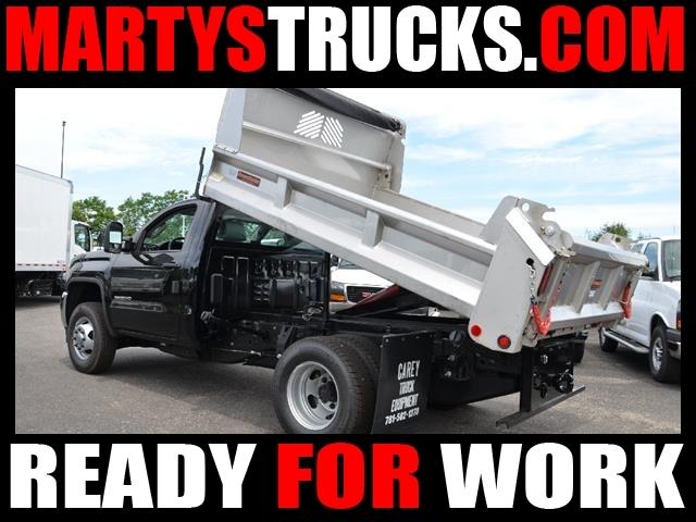 2016 Gmc Sierra 3500hd Cc Dump Truck