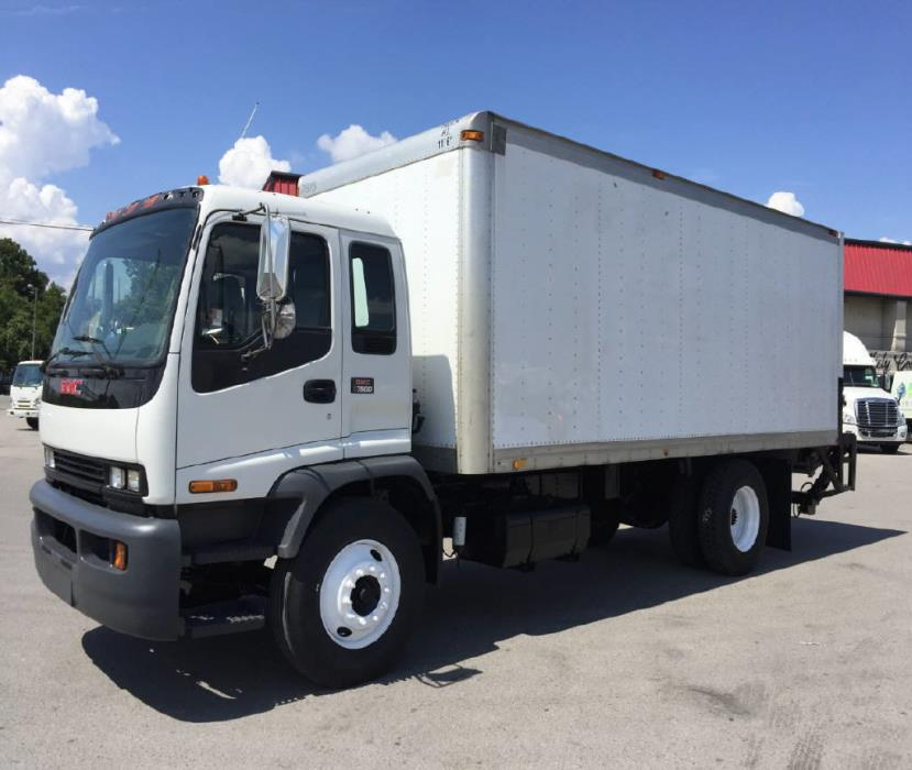 2008 Gmc T7500  Box Truck - Straight Truck