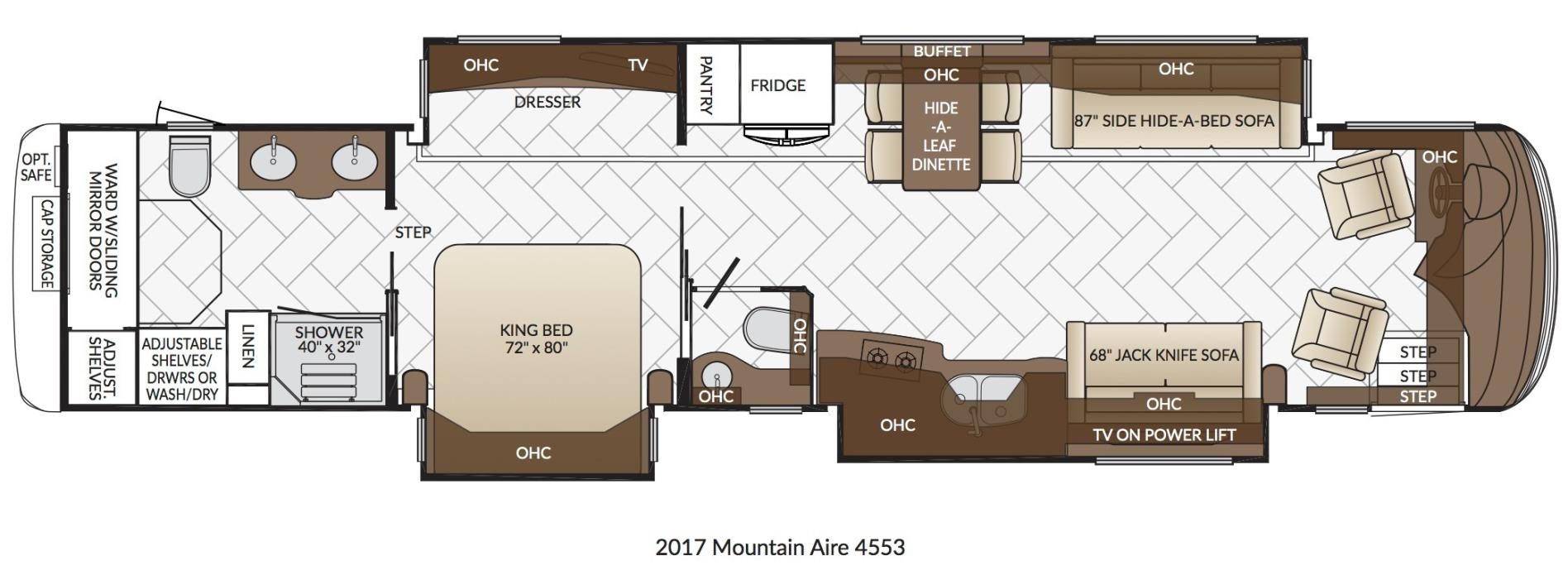2017 Newmar MOUNTAIN AIRE 4553
