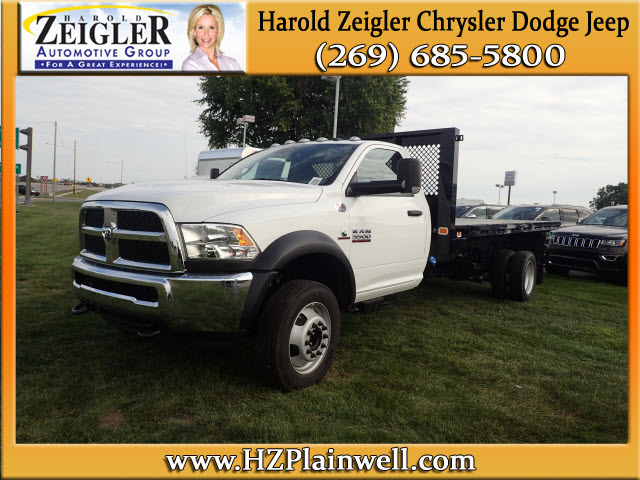 2016 Ram 5500 Chassis Flatbed  Cab Chassis