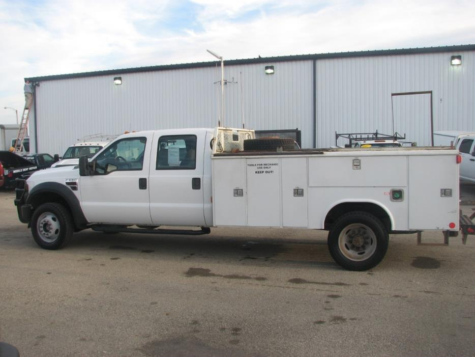 2009 Ford F550 Contractor Truck