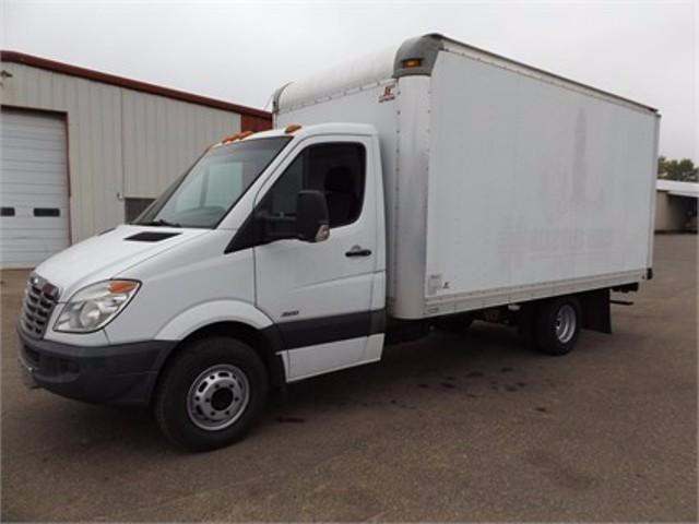 2012 Freightliner Sprinter 3500  Box Truck - Straight Truck