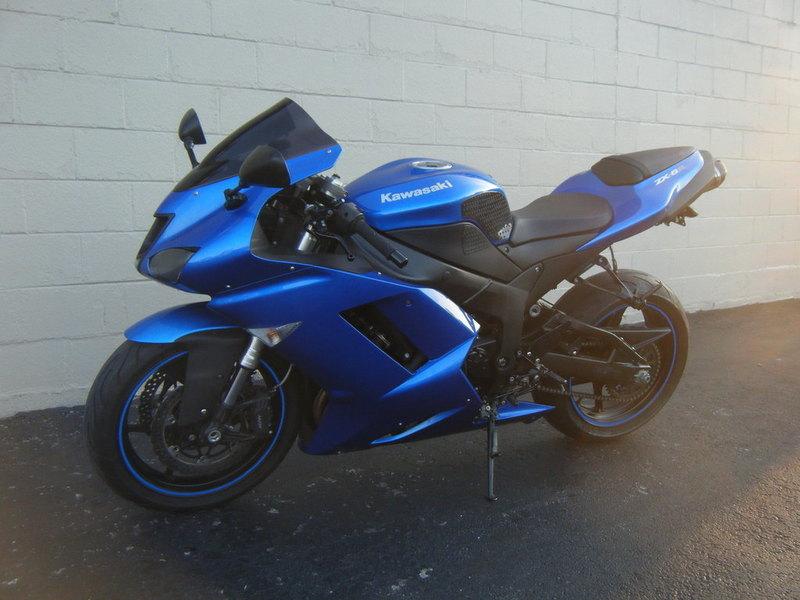 2001 Kawasaki Ninja Zx 6r Motorcycles for sale