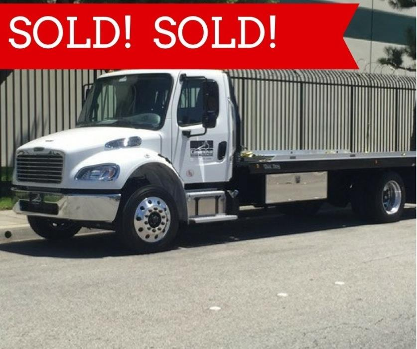 2016 Freightliner Business Class M2 106  Rollback Tow Truck
