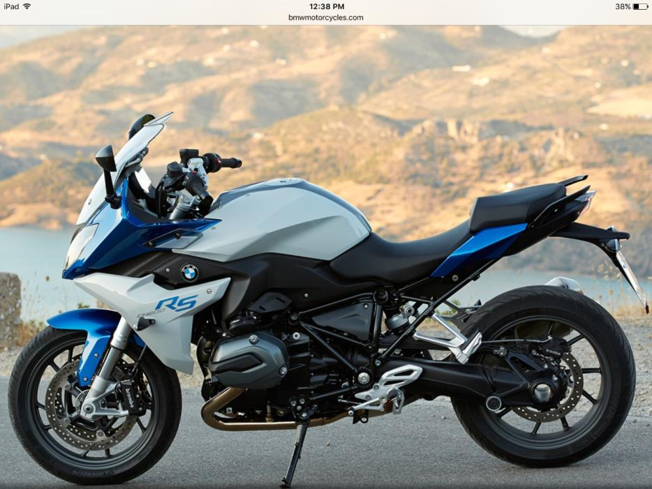 2016 BMW R 1200 RS Premium Lupin Blue / Light Gre