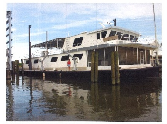 1948 Custom Houseboat Plaquemines