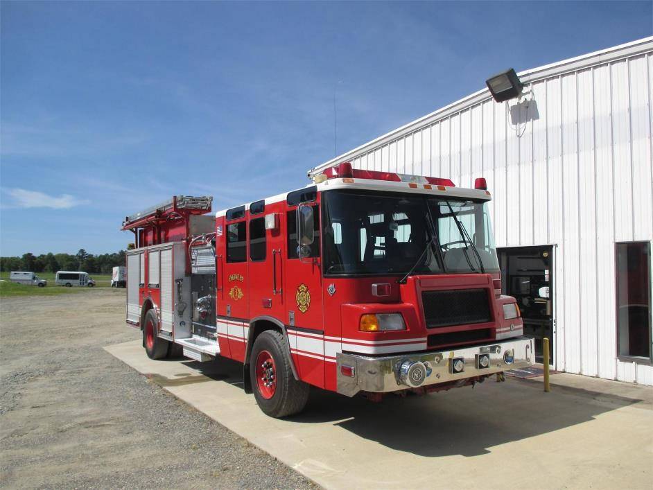 1997 Pierce Quantum Fire Truck