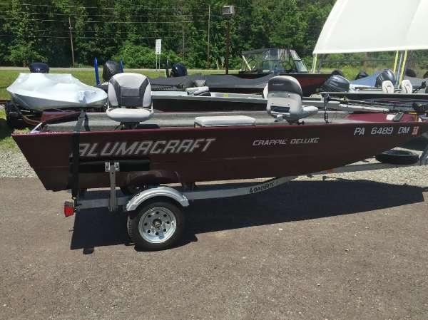 2013 Alumacraft Crappie Deluxe