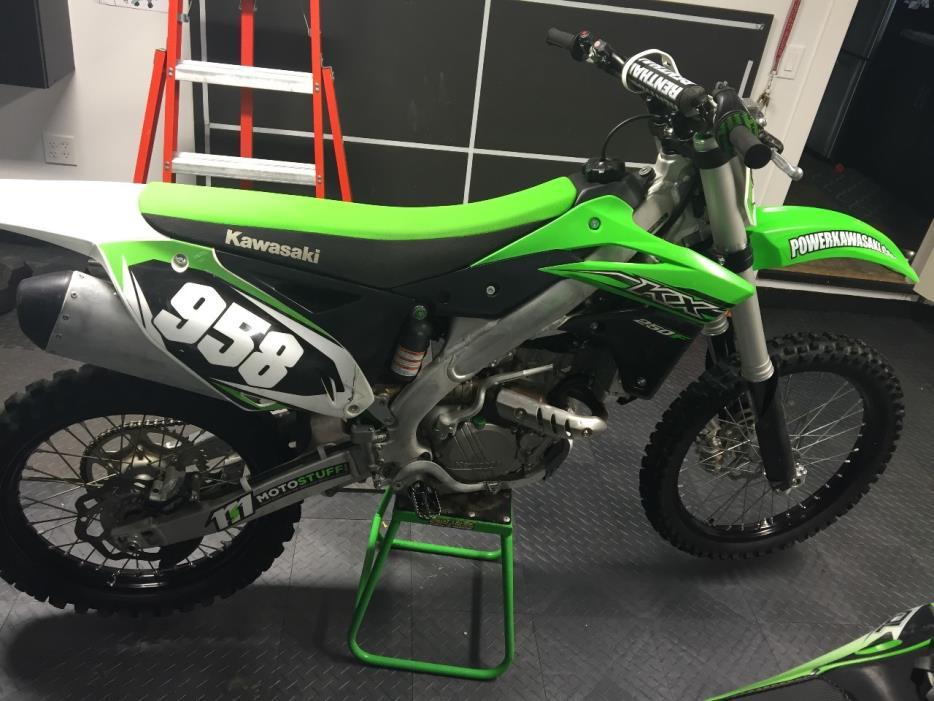 2015 Kawasaki KX450FFF