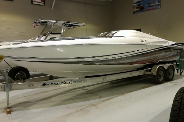 2015 Sunsation 288 SSR Mid-Cabin Open Bow