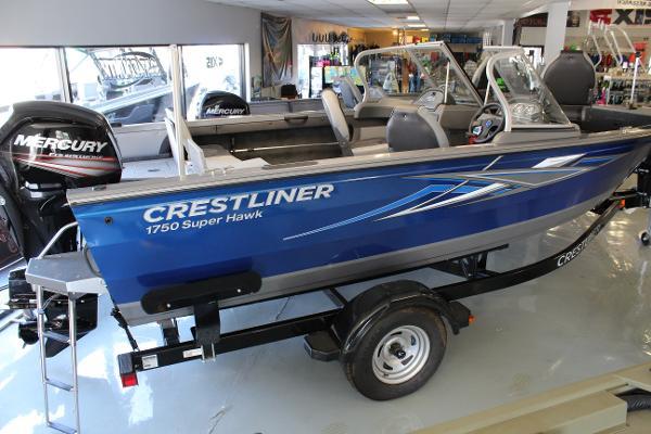 2016 Crestliner 1750 Super Hawk
