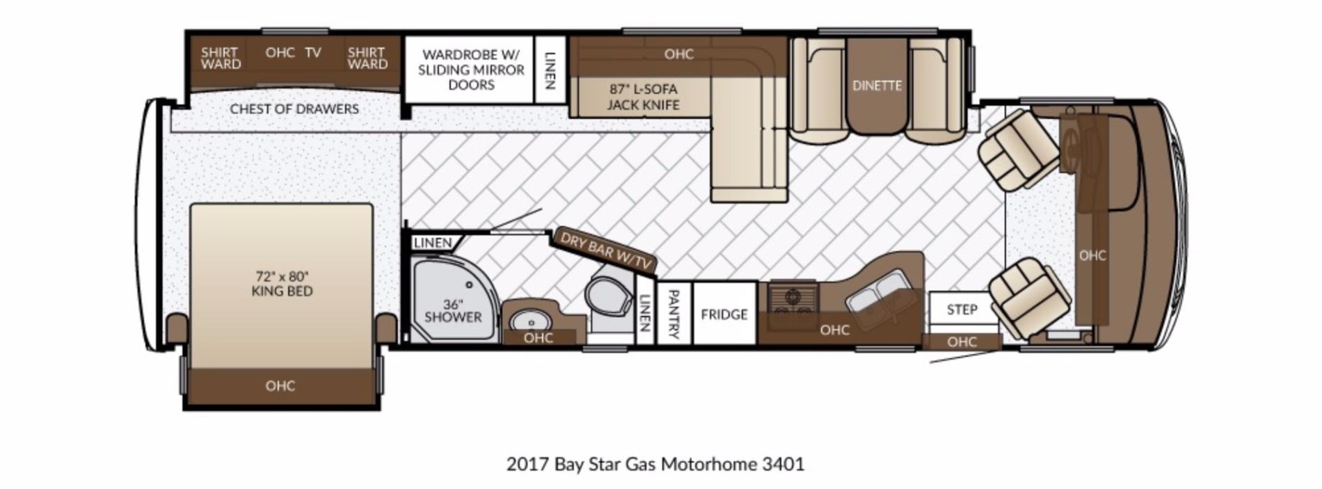 2017 Newmar BAY STAR 3401