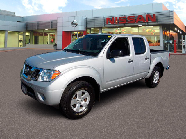 2013 Nissan Frontier 4wd Crew Cab Swb Auto Sv Pickup Truck