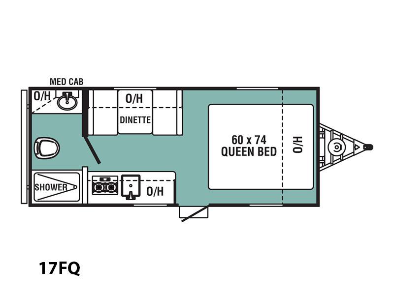 2017 Coachmen Viking Ultra-Lite 17FQ