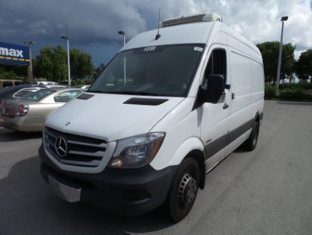2014 Mercedes-Benz Sprinter 3500 Cab Chassis