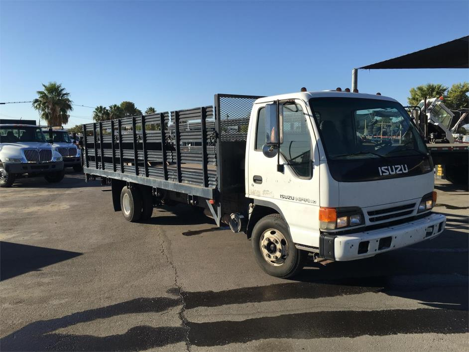 2003 Isuzu Npr Hd  Stake Bed