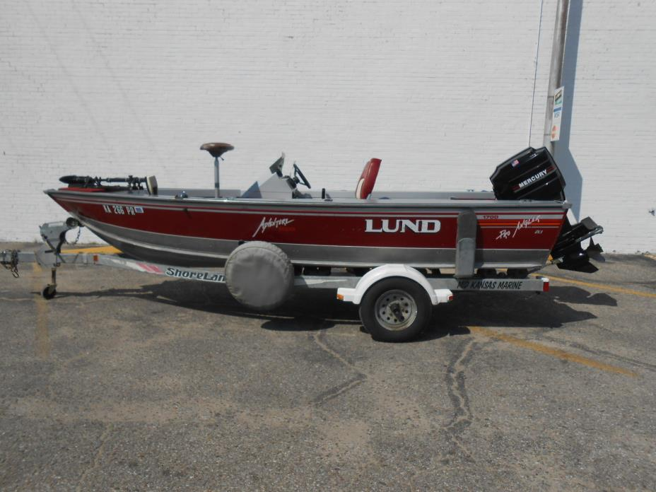 1993 Lund 1700 Pro Angler