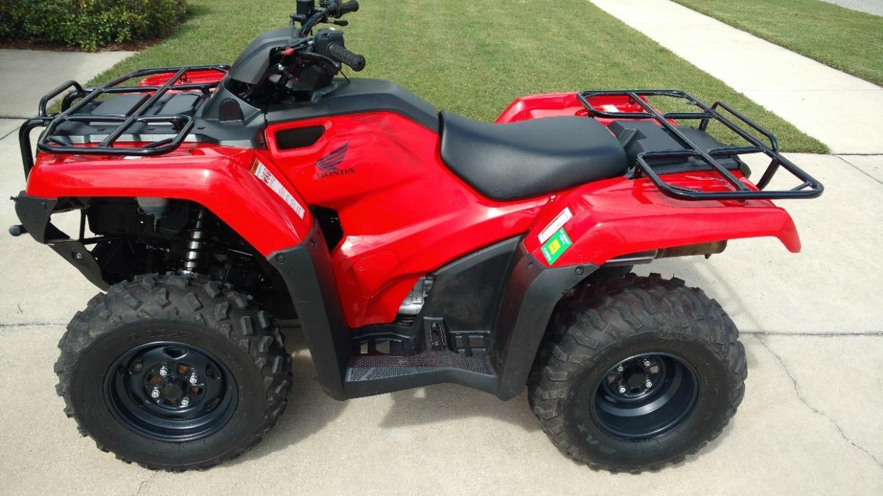 2016 Honda FOURTRAX RANCHER 2X4 ES