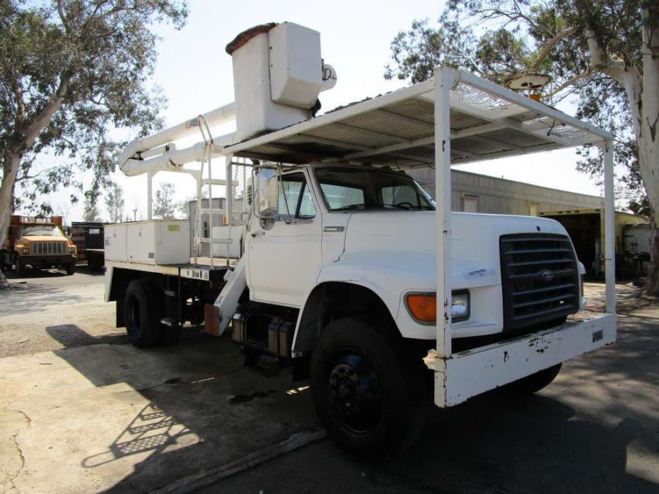 1996 Ford F 700 Bucket Truck - Boom Truck