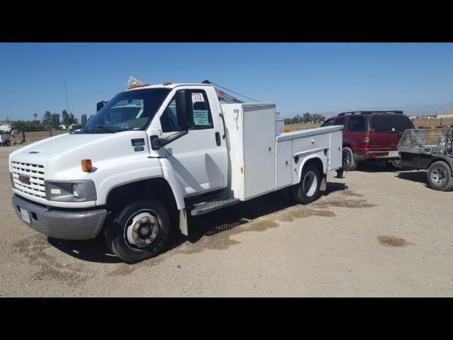 2006 Gmc C5500 Cab Chassis