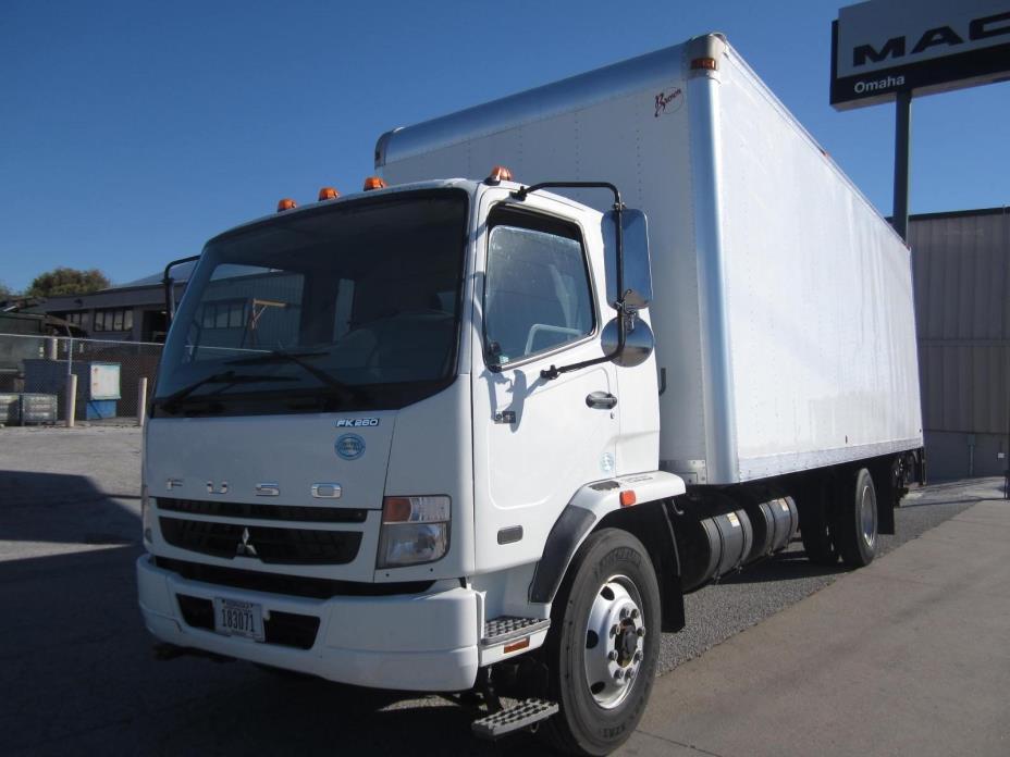 2008 Mitsubishi Fuso Fk62ft  Box Truck - Straight Truck