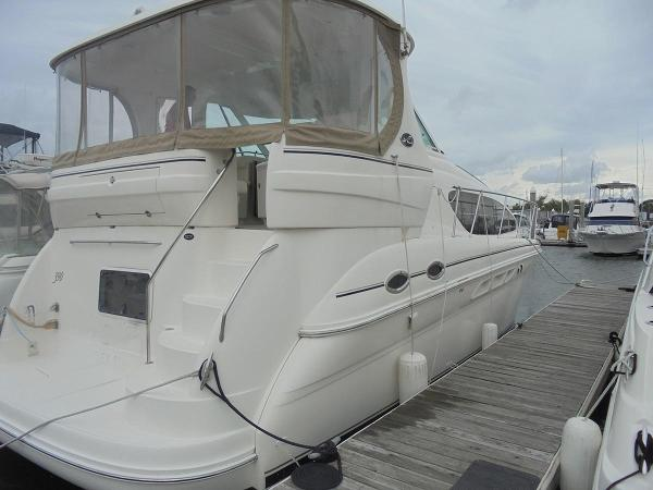 Sea ray 390 motor yacht boats for sale in maryland for Outboard motors for sale maryland