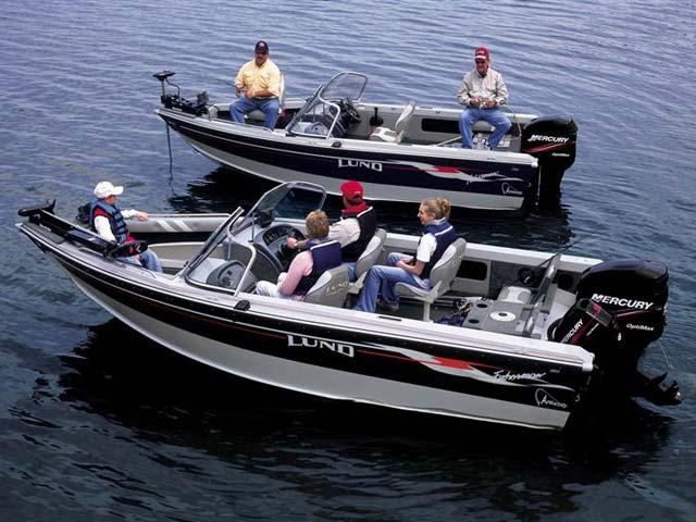 2005 Lund 1700 Fisherman