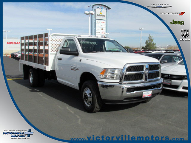 2016 Ram 3500 Chassis Tradesman  Flatbed Truck