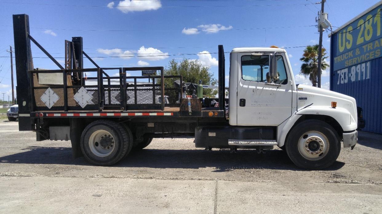 2001 freightliner fl60 flatbed truck