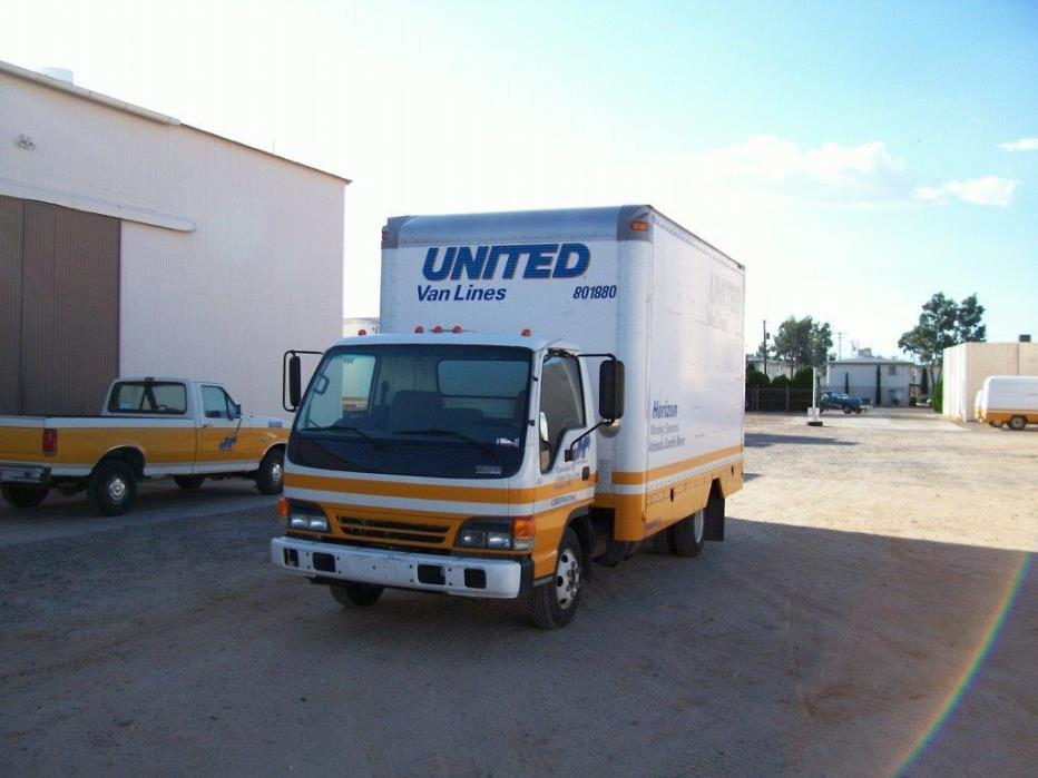 2004 Isuzu Isuzu  Box Truck - Straight Truck