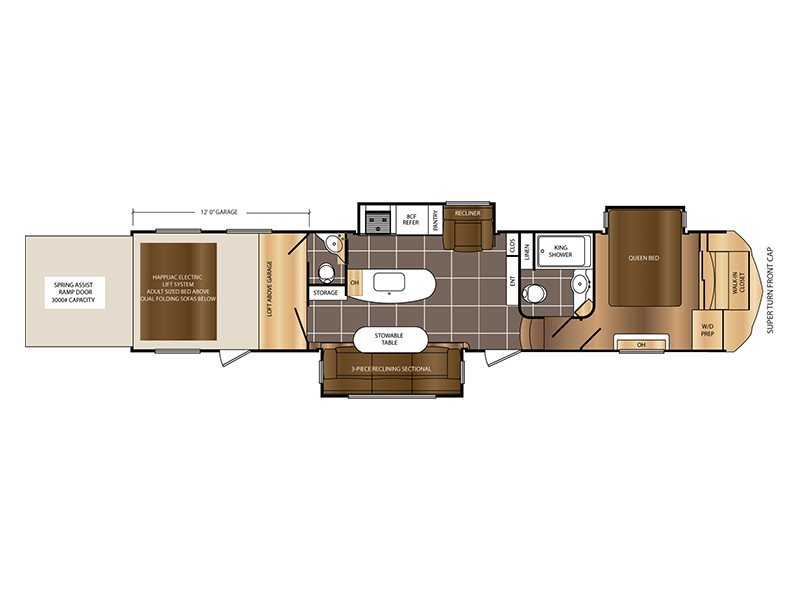 2015 Prime Time Spartan RVs 1239