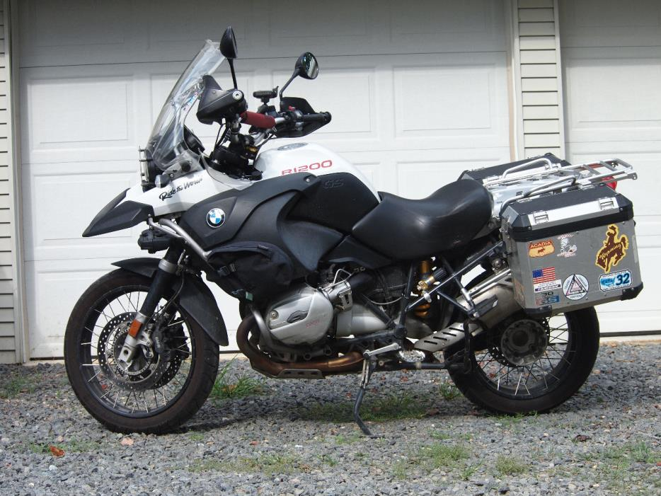 bmw r1200 gs adventure motorcycles for sale in maryland. Black Bedroom Furniture Sets. Home Design Ideas